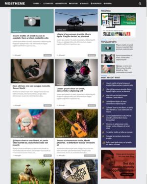 Mostheme Premium Blogger Template