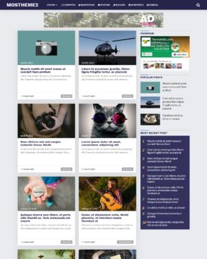 Mostheme2 Premium Blogger Template