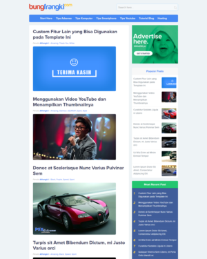 Noname Premium Blogger Template